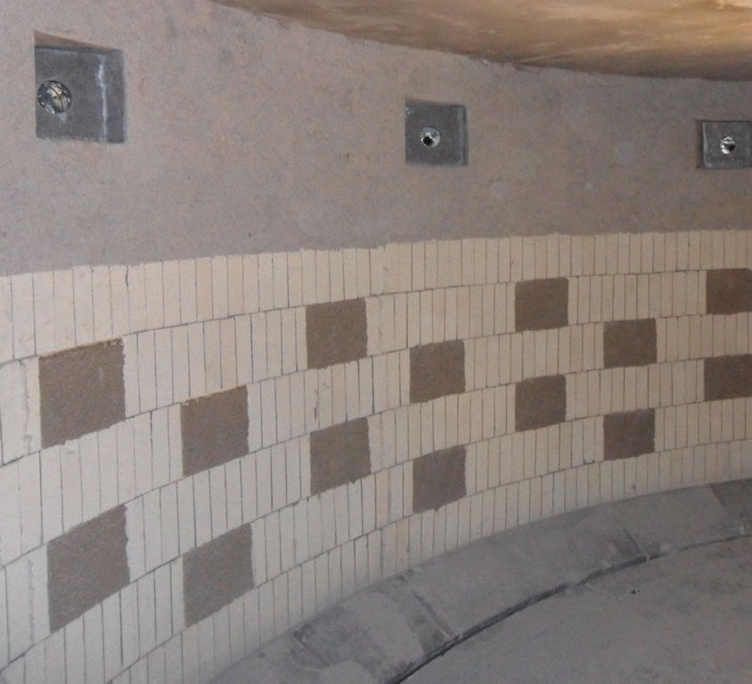 Four traitement thermique – Briquetage, masse à damer et pièces préfabriquées